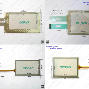 6AV6642-0BA01-1AX1 TP177 6'' Touch screen replacement for 6AV6642-0BA01-1AX1 TP177 6''  Touch membrane