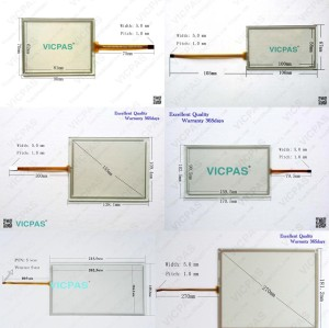 6AG1647-0AA11-2AX0 KTP400 Touch screen replacement