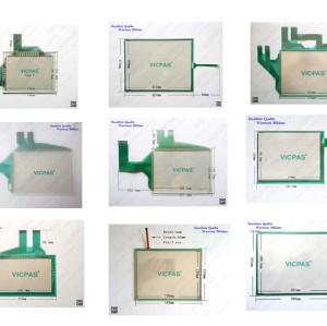 Touch digitizer panel screen membrane glass for Mitsubishi A951GOT-QTBD