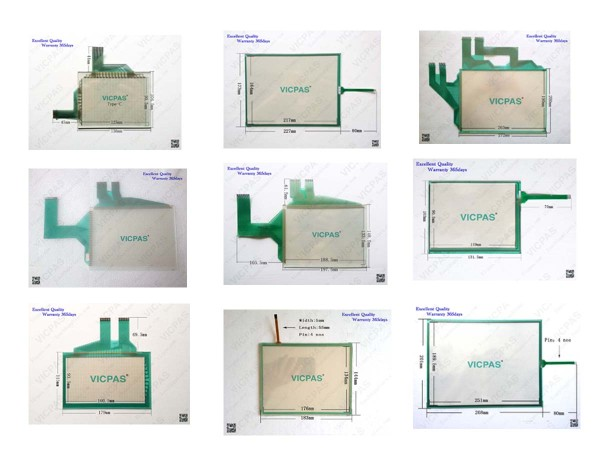 LCD Touch Screen Panel for Mitsubishi