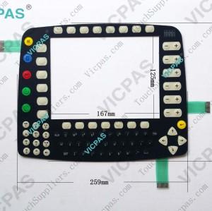 3.70200.284 NOUV.FEN. P-204482M OF170642 Ind.o1 Membrane keypad keyboard for KUKA