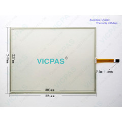 4 Wire Resistive Touch Screen Panel SCN-1510-4W-TFT