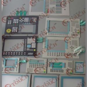سيمنز 6av3607-1jc00-0ax2 لوحة المفاتيح لوحة المفاتيح غشاء التبديل OP7