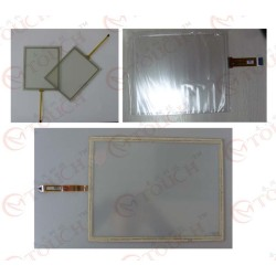amt8750 203400702 écran tactile en verre numériseur membrane panneau
