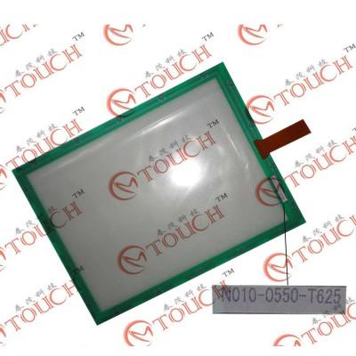 غشاء شاشة N010-0550-t625-10.4 تعمل باللمس لوحة الزجاج التحويل الرقمي