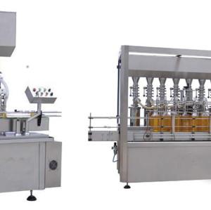 hot-selling automatic liquid bottling line