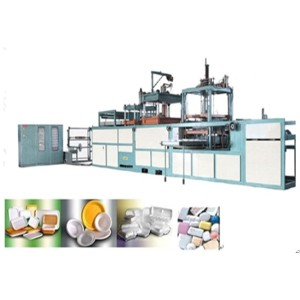 high quality Fully-automatic PS Fast food box Equipment 0086-13939083413