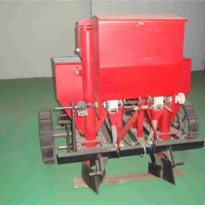 single-ridge dual-row potato seeding machine