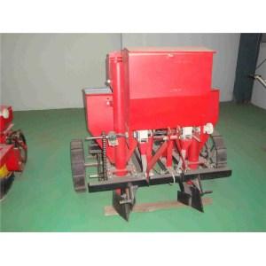 single-ridge dual-row potato seeding machine