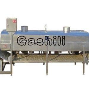 continuous wire belt baking machine for peanuts, cashew and Pistachios