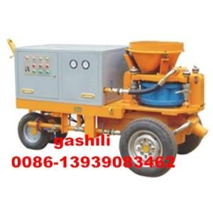 Maquina de hormigón proyectado humedo