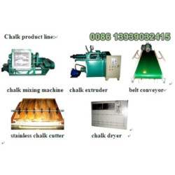 Calcium Carbonate Dustless Chalk Making machine