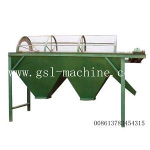 Maquina clasificadora de fertilizantes con pantalla