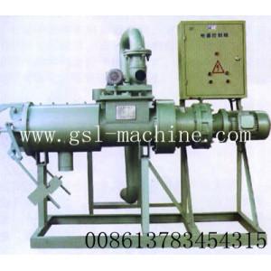 Maquina separadora liquido/solido de residuo animal
