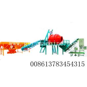 Mezclador de Fertilizantes a granel