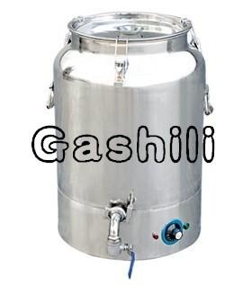 Self-heating crystal-melting honey barrel    0086-15890067264