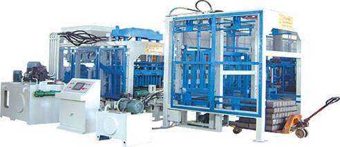 High quality hollow blocks making machine from henry