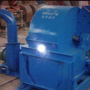 Wood crusher wood processing machine