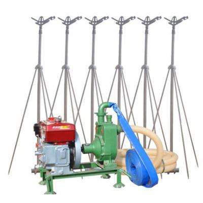 Movable type Sprinkler irrigation system