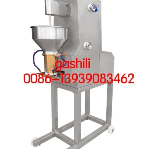 Double speed meatball forming machine