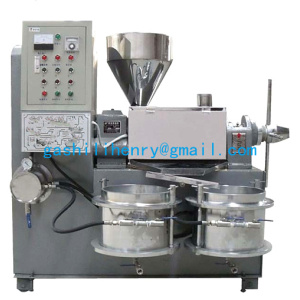 Screw type oil press machine  beans oil pressing machine from henry