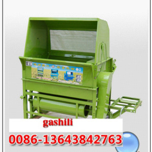 Blowing rice and wheat thresher