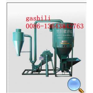 Fodder crushing stirring machine