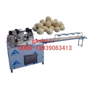 wheat rice ball puffing machine,puffed  rice ball molding machine