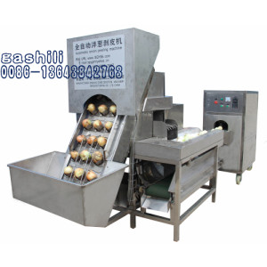 Large  capacity onion peeler onion peeling machine 0086-13643842763