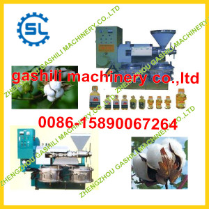 Hot selling china manufacturer cotton seeds oil pressing machine