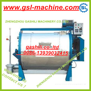 Double barrel automatic clothes water rubbing machine