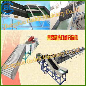 Hot selling automatic fruit cleaning and selecting machine
