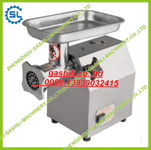 Small type family using meat grinding machine
