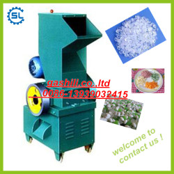Hot type recycling plastic grinder machine