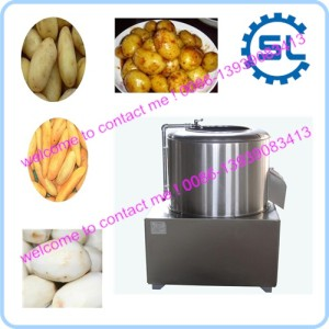 Multifunction taro potato sweet potato cleaning and peeling machine