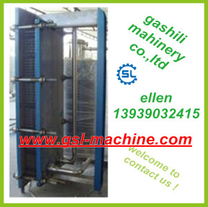 Excellent quality and reasonable price plate type cooler of milk