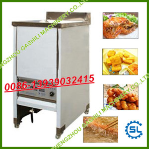 Stainless steel Electric heating model frying machine