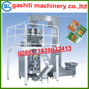 pet food Combining weight Automatic vertical granule packaging line