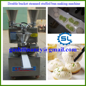 Stable operation super effective steamed stuffed bun making machine