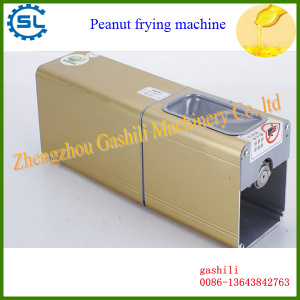 China factory stainless steel small type peanut frying machine