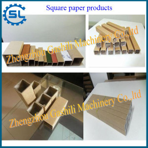 Popular using new design automatic square paper cone making machine