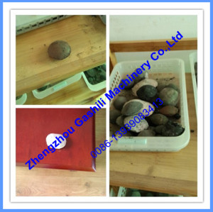 factory price  Lime powder ball briquette machine