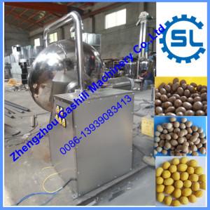 Stainless steel chocolate peanut coating machine
