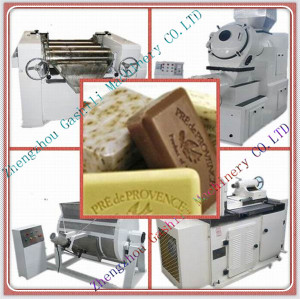 Small capacity Chinese low price soap machine