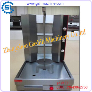 Stainless steel high popular competitive business shawarma machine