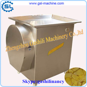 Amazing output high effectiveness ginger slicing machine