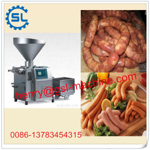 2014 industrial Automatic stainless steel sausage stuffer