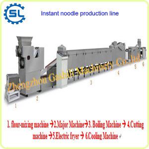 Amazing output super effectiveness fried instant noodle production line