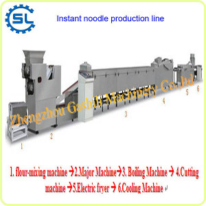 Amazing output super effectiveness fried instant noodle production line