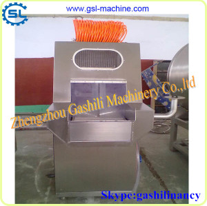 Frequency control type automatic saline injection machine